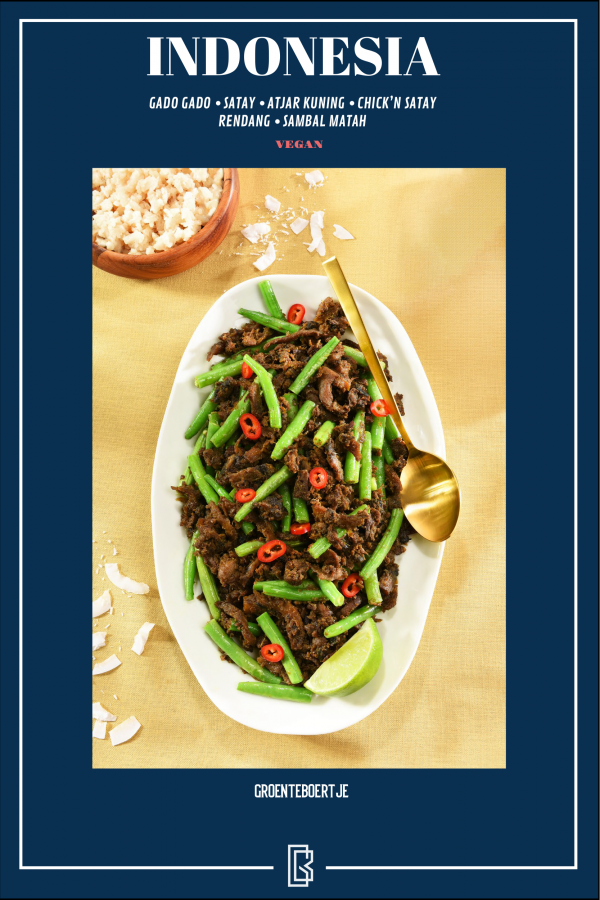 vegan e-book Indonesia recipes