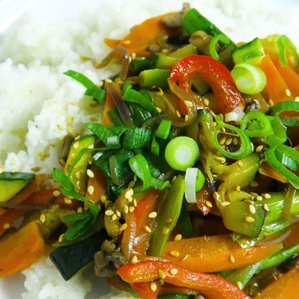 Kokos rijst