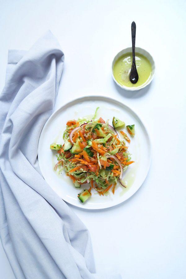 vegan frisse salade