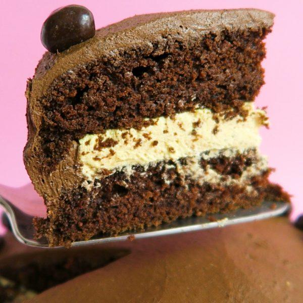 vegan chocolade pindataart