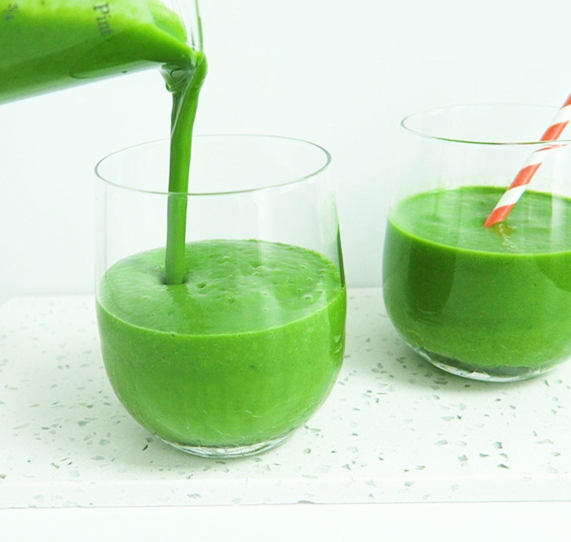 vegan groene smoothie