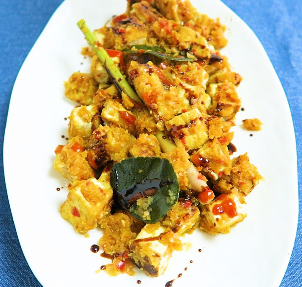 vegan tofu bali