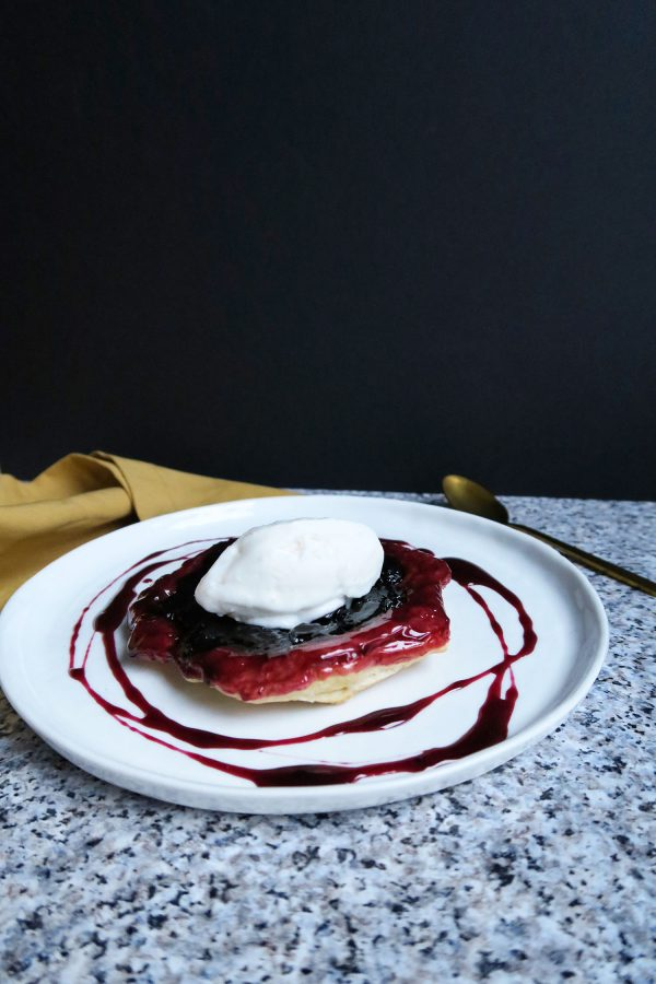 vegan tarte tartin
