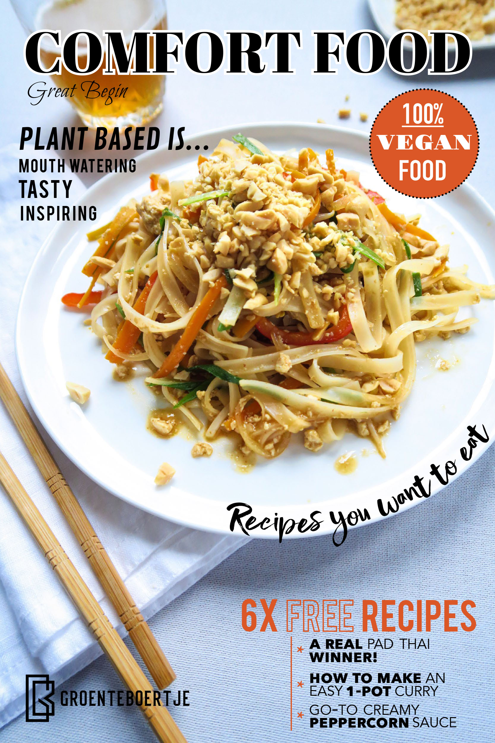 vegan e-book comfort food