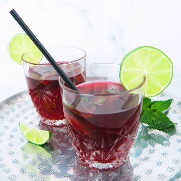 hibiscus ice tea vegan