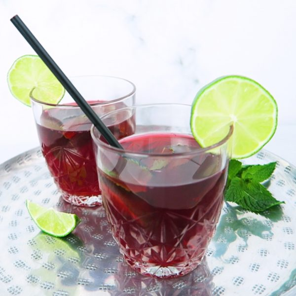 hibiscus ice tea vegan