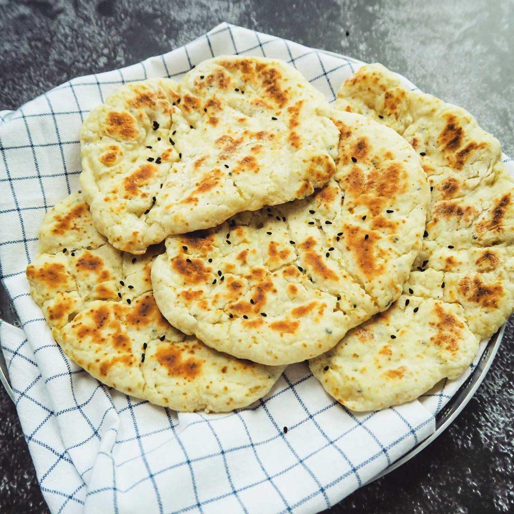 Naanbrood maken