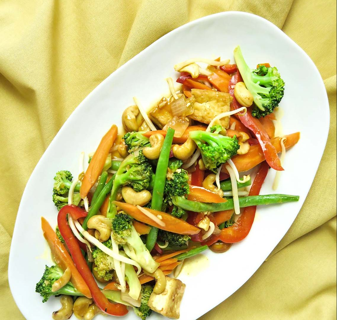 vegan thai cashew