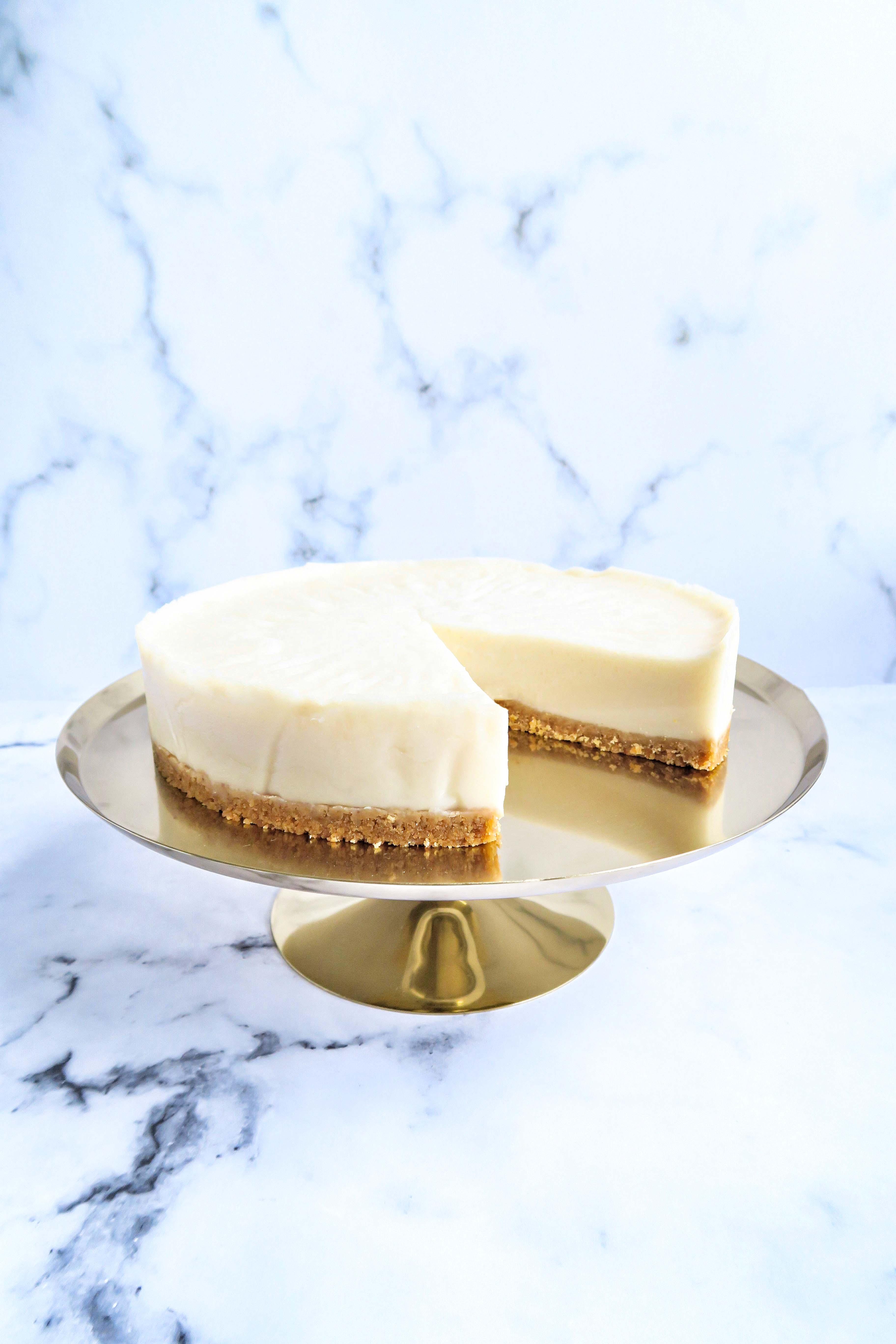 Vegan cheesecake recept