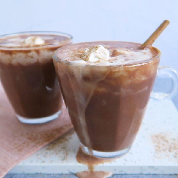 vegan healthy chocolate milk