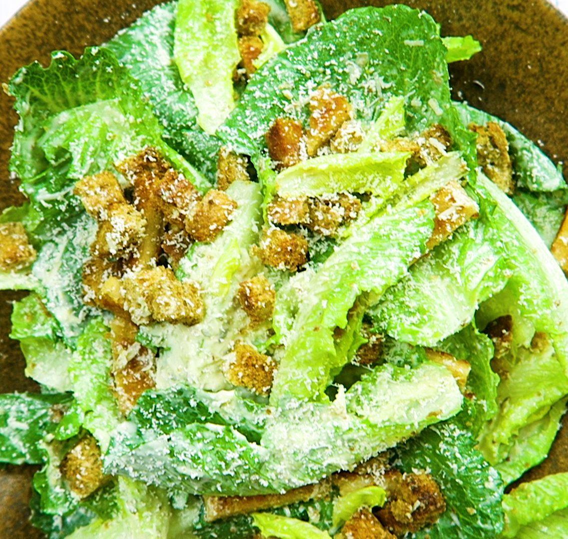 vegan ceasar salad