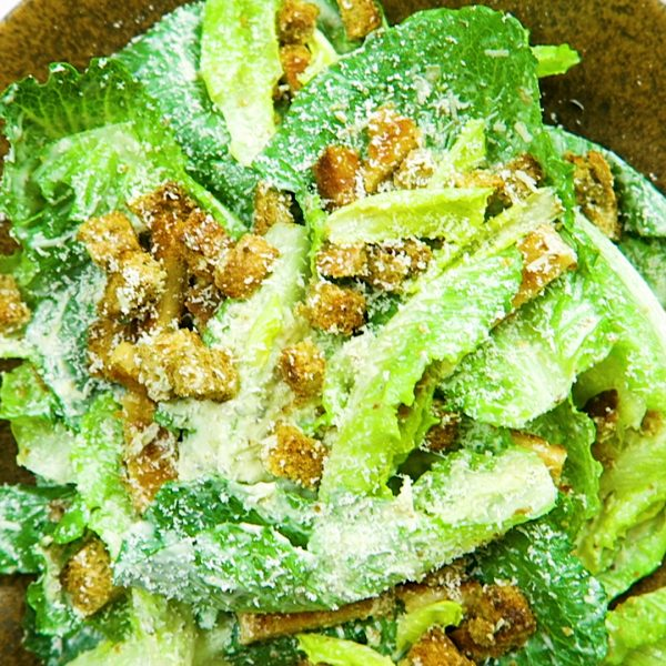 vegan ceasar salade