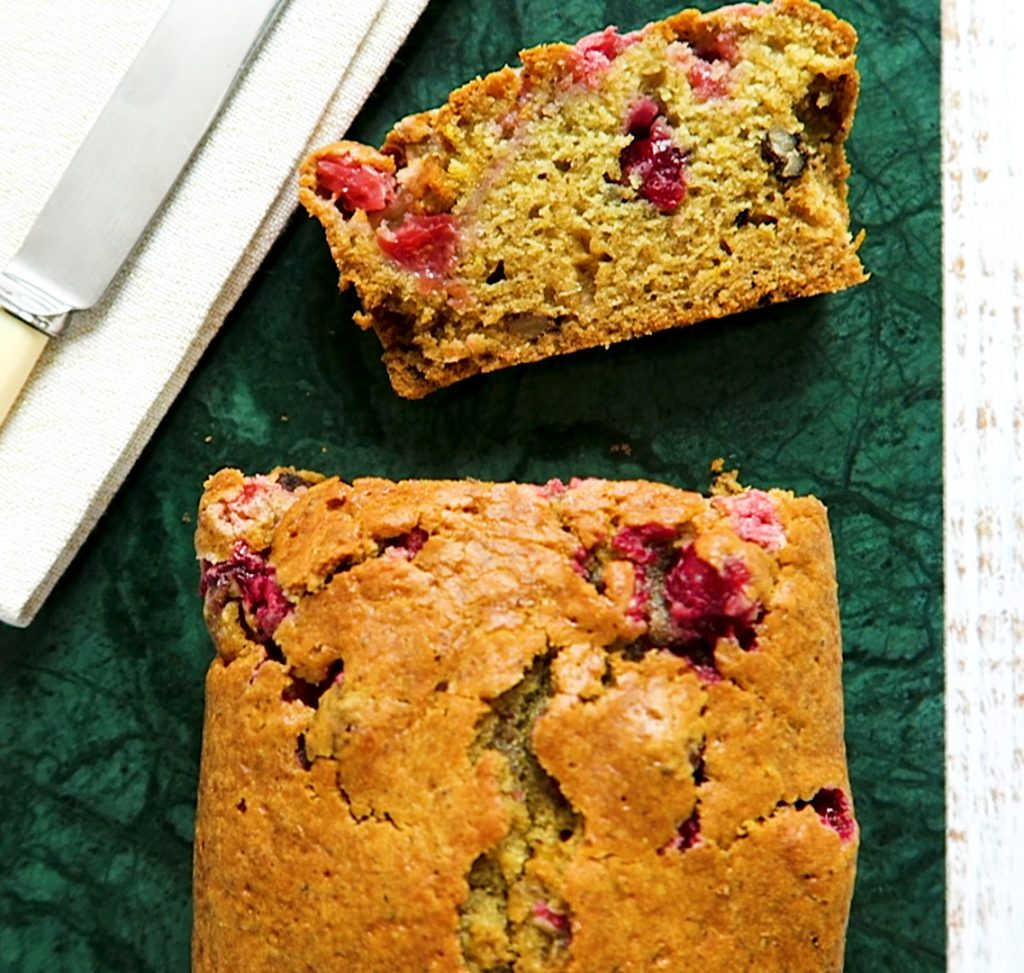 vegan cranberry cake