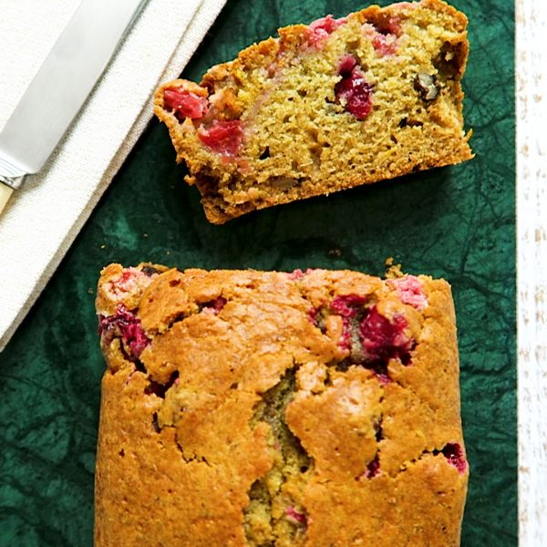 vegan cranberry cake
