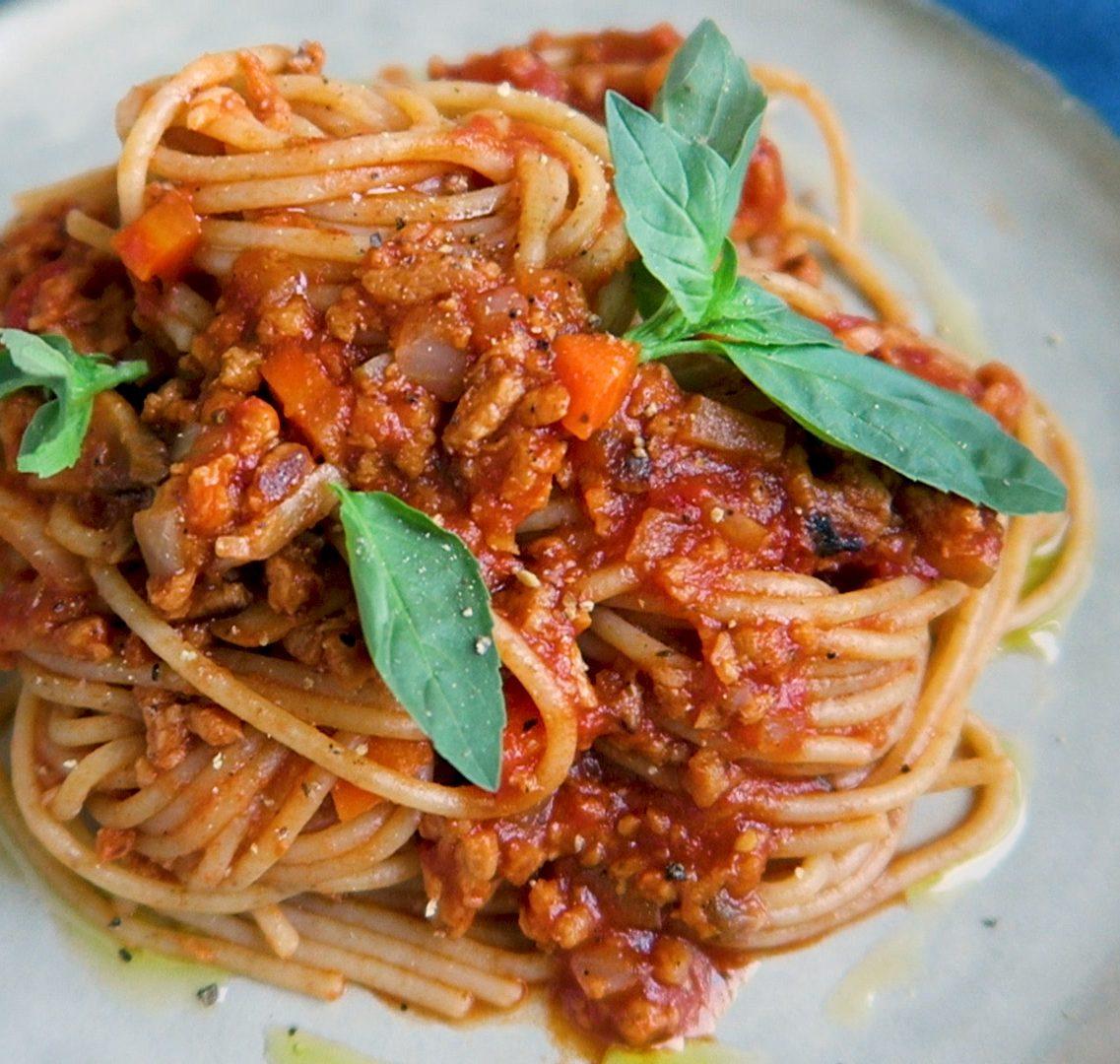 vegan pastasaus recept