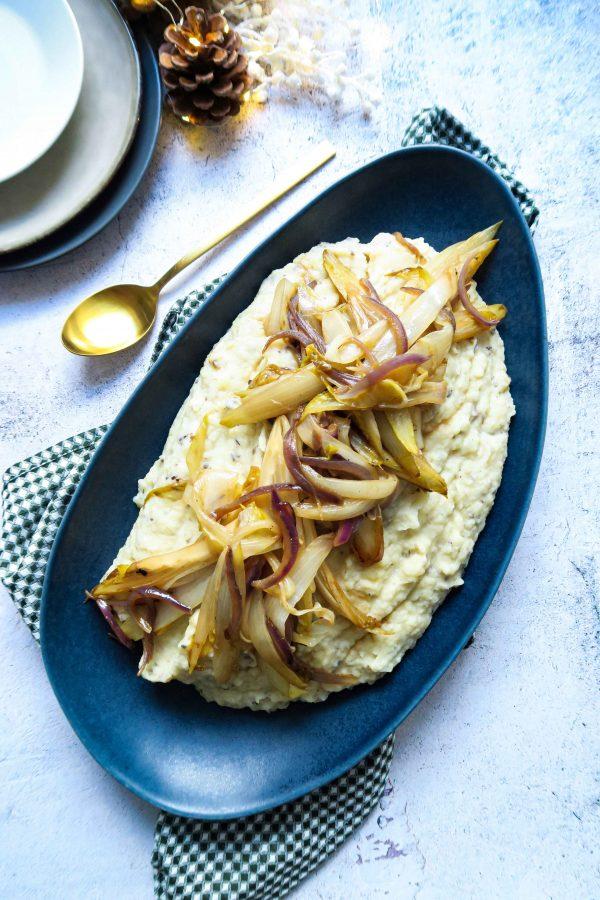 vegan pastinaak aardappelpuree