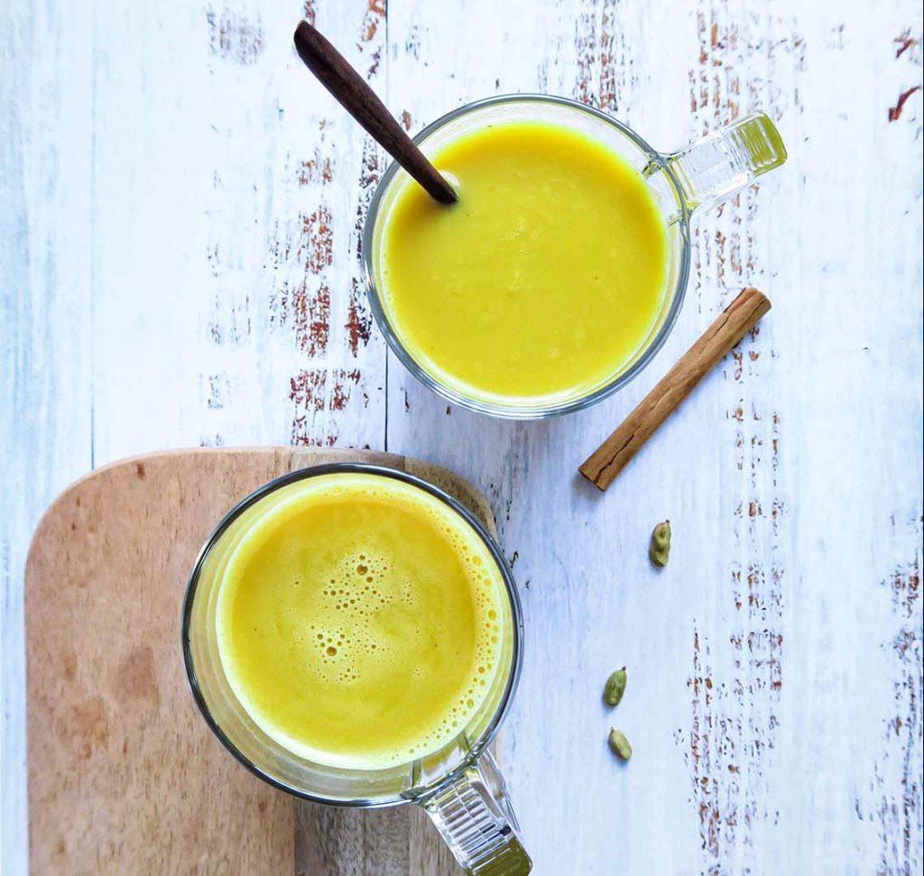 golden milk recept
