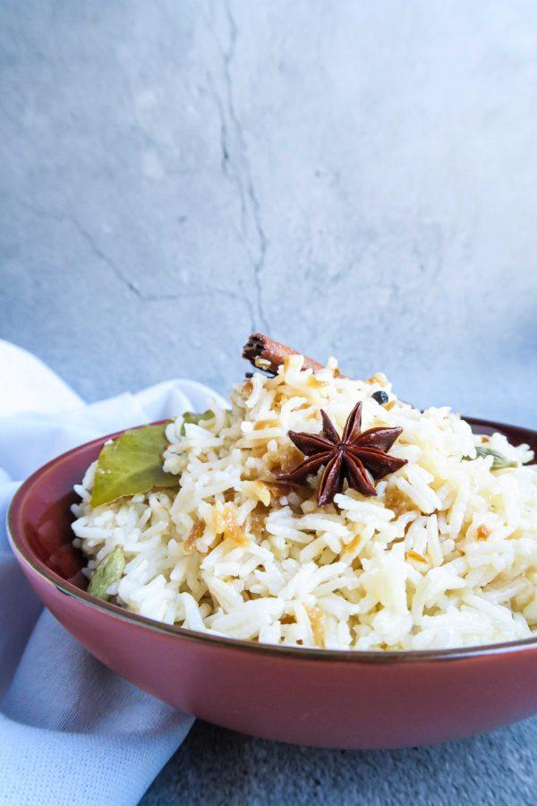 vegan basmati rijst recept