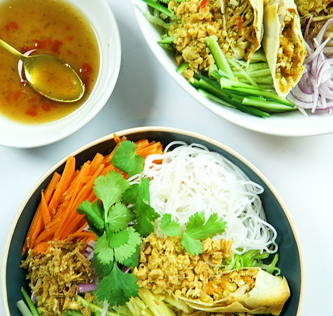 Vietnamese vegan Salad
