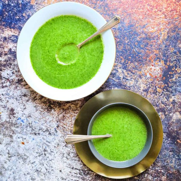 Groene groentesoep