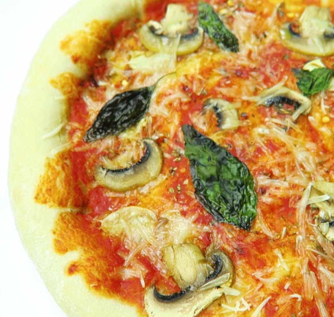 Pizza deeg maken