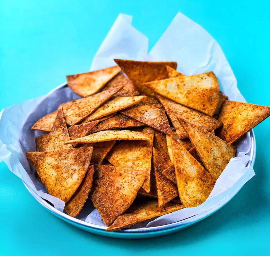 tortilla chips maken